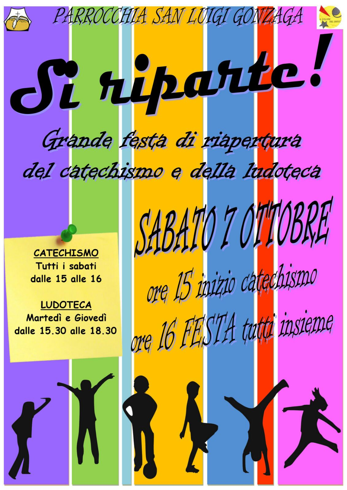 S. Luigi - Festa inizio catechismo
