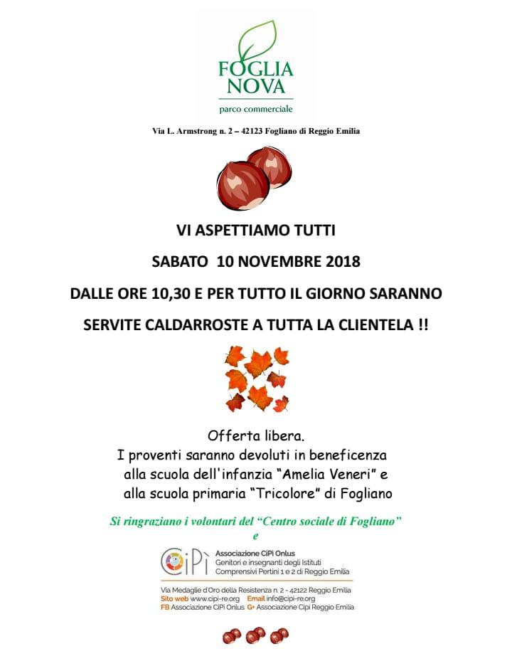 Caldarroste Fogliano 10-11-2018