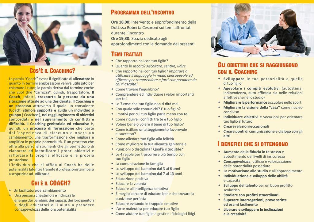 Locandina Coaching 2