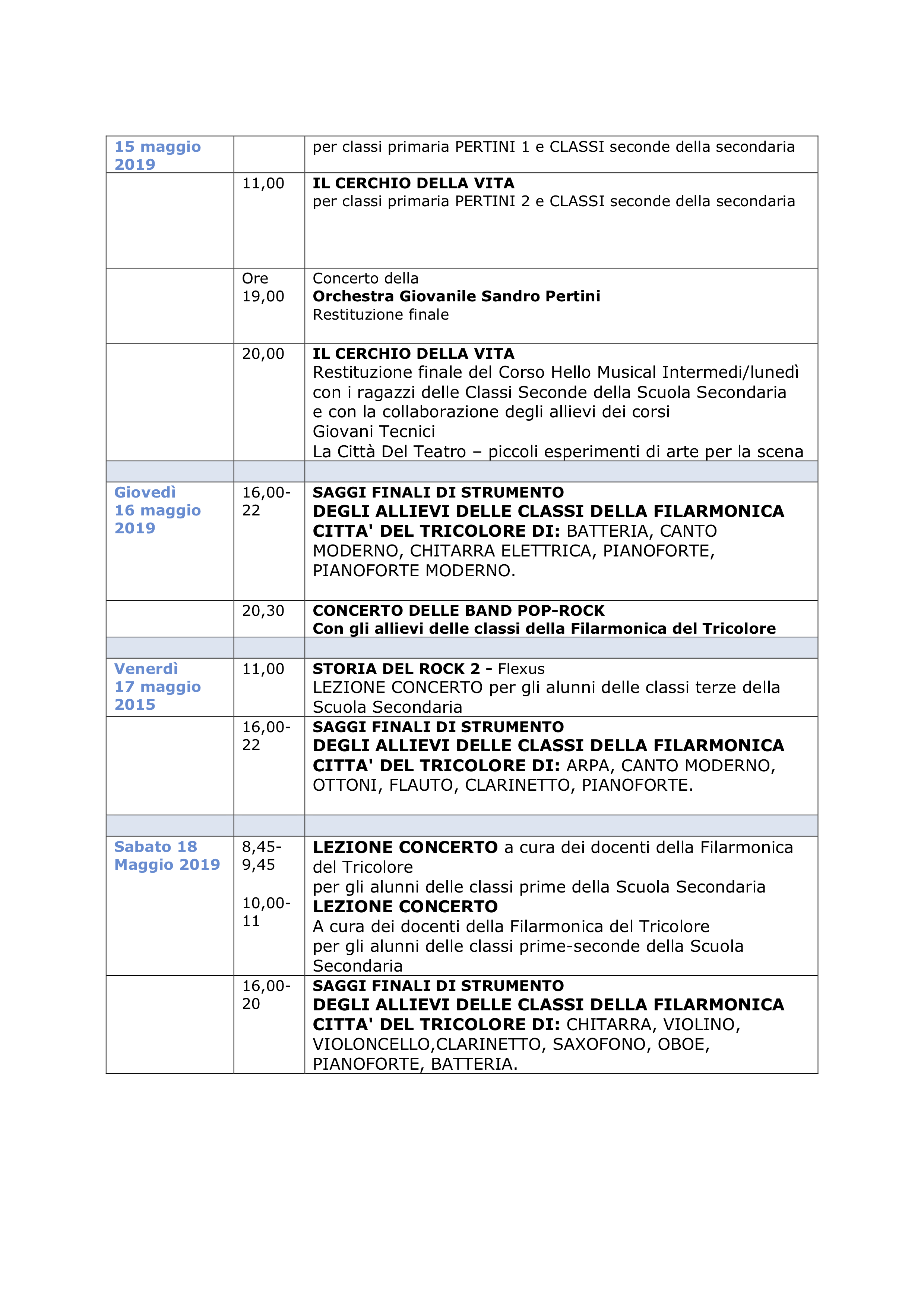 SETTIMANA DELL'ARTE 2018_2019 - Pag 2